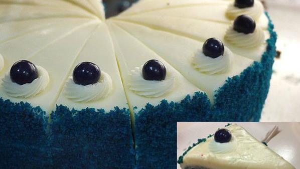 Blue Velvet Cake meecook